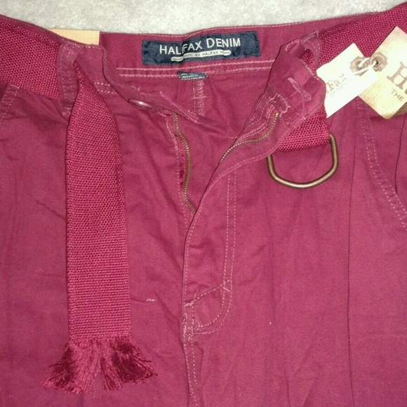 Halifax Other - Halifax DenimTwill Cargo Pant Wine color-32x32-New